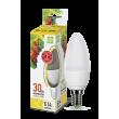 Лампа светодиодная LED-СВЕЧА-std 3.5Вт 230В Е14 3000К 320Лм ASD