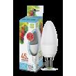 Лампа светодиодная LED-СВЕЧА-standard 5Вт 230В Е14 4000К 450Лм ASD