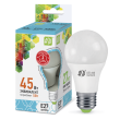 LED-A60-standard 5W 220V 400lm 4000K E27 светодиод. лампа ASD